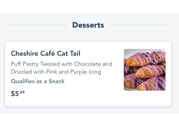 cheshrie Cafe Cat Tail