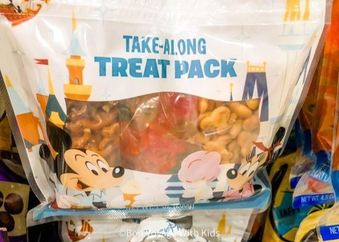 toddler snack pack at Disney World