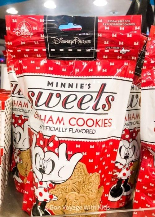 Minnies Sweets Graham Cookies at Walt Disney World Snacks