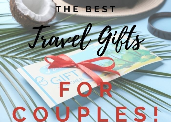cover image of title with gift card for travel gifts for cuples